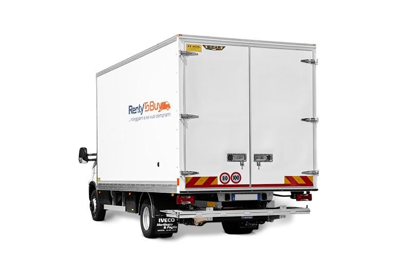 Noleggio furgone box iveco 60Q e sponda